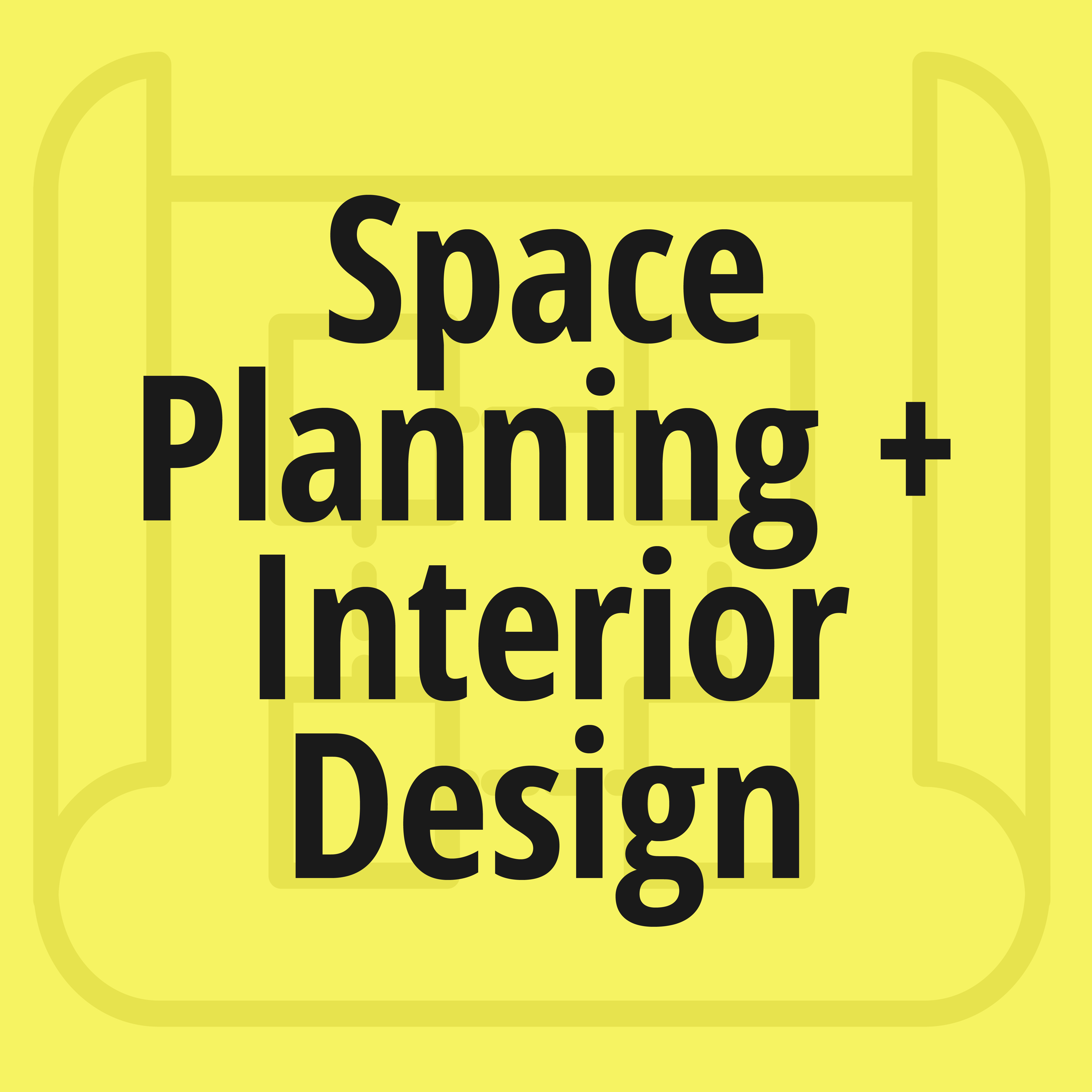 Icon for Space Planning and Interior Design